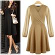[Free-Shipping Kores Beautiful Dress 8-knids] Dresses★best hit deals★slim-fit/women fashion women clothing winter