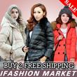 【19thSep】2014 Womens down jacket Ladies Winter coat Jacket * 0 degrees - 30 degrees below Down Feathers
