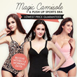★Lowest Price★ Magic Camisole push up sport bra Cami Top/Camisole/Magic Bra/ Sports Bra /Bandeau/Sleeping / Bustup