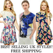 NEW ARRIVALS TODAY! BUY 2 FREE Qxpress Shipping ~ UK STYLE QUALITY DRESSES