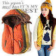 [buy 2 free shiping]winter thick vest/Casual Ladies vest/Spring/Warm vest/