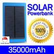 [Solar Power] 35000mAh Solar PowerBank Portable Battery Charger !!! Power Bank for IPad / IPHONE / Galaxy S5 / S4 / Note 3 / 4 and all Mobile Phones