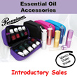 Essential Oil Accessories / Glass Bottle Spray / Essential Oil Travel Pouch / Young living / doTERRA / Premium Quality and Design
