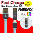 Unbelievable Crazy Sales Fast Charge 2 in 1 data charging cable/ Remax iPhone 5S/5C/5 iPhone 6 USB lightning cable  Samsung Note 3 / S5 cable 3-in-1 cable (Golf iphone5S/5C/5 Micro USB Powerbank)
