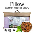 Free Delivery ▶Natural Cassia Seed Pillow for Human Health (天然决明子保健枕)◀GDA GDB- Giving You Comfortable and Healthy Sleep