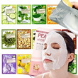 *Mask Pack*Thefaceshop-aloe/Pomegranate/food a holic-Snail/potato/collagen/tomato/Orange/