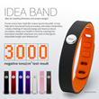 [NEW ARRIVAL][Lover Gifts]Power Ionics Unisex IDEA BAND 4in1 Multifunction Titanium/Ge/F.I.R/Tourmaine 3000ions/cc Sports Waterproof Healthy Bio Wristband Bracelet