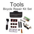 ▶Bicycle Repair Tool Set With Carry Bag◀GCB GTOOLS-Easy Carrying Pump/Patch/Rubber Lever/Multi Tool Set/ Bike Onestop repair solution kit set