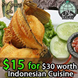 $15 For $30 Worth Of Savoury Indonesian Cuisine at Warung Lele Tanjong Pagar