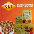 [KLT Deal] Buy 5 Free Shipping! Panda Cookies / Crispy Crackers comes with Coconut / Durian / Coffee Falvour! Local seller fast delivery! No surcharge on Sabah/Sarawak shipping!