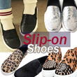 Slip-on shoes/casual shoes/Women shoes/flat shoes