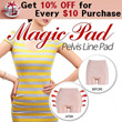 ★Get 10% OFF for Every $10 Purchase★[MAGIC VOLUME UP PAD GIRDLE / S line transforming in 5 seconds / Volume up pad / 2014 New item / ★Magic Pelvis Line Pad★ Improve Your Body Line Body Shaping Underwe