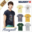 Full change! Korea Best Brand MannyMall High Quality Short Sleeve T-Shirts