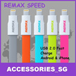 ♣FREE SHIPPING♣ 100% AUTHENTIC REMAX Fast Charge Lightning MicroUSB Cable USB CABLE CHARGING CABLE HIGH QUALITY