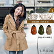 OBDESIGN // I.MODA - PREMIUM QUALITY PARKA IN STYLE ★ JACKET ★ TRAVEL ★ OFFICE ★ 5 COLOURS ★ PLUS SIZE ★ FREE SIZE ★ SIZE M - 3L