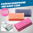 KOREAN HANDPHONE AND MANY CARD WALLET 4 MODELS