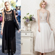 European Fashion Maxi Dress Bohemian Style Lace Embroidery Long Dress