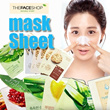 ★thefaceshop★/10+1 Big Event/Mask Sheet/Made by grinding Mask Sheet/Fresh fruit juice mask