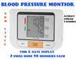 Fully Automatic Arm Blood Pressure Digital Monitor More Accurate Than Wrist Style Health Medical