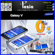 Galaxy V-(Garansi resmi samsung (SEIN )1 tahun)-Display 4.0 inches 480 x 854 pixels-Android OS v4.4.2 (KitKat)-Processor 1.2 GHz Cortex-A7
