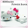 Limited 5,000 Qty! Only Today! 8000 mAh Power Bank Cute Portable Charger for ipad air ipad mini Note3 S4 iphone 5/5s Christmas Gift / galaxy /