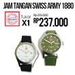 Jam Tangan Swiss Army 1880 G Fitur Tanggal (Free Ongkir JABODETABEK)