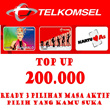 ISI PULSA TELKOMSEL 200 RIBU [3 PILIHAN MASA AKTIF] 24 HOURS HIGH SPEED!!