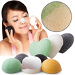 Konjac Sponge 100% natural vegetable fibre/ Reduce blackheads/ Clears Acne