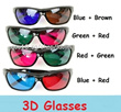 3D glasses ( not paper type ) / 3D TV