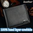 100% head layer cowhide / man purse / Wallet