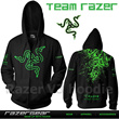 ★★ [Gaming Apparel] Hoodie Gaming RAZER/NAVI/ALIENWARE/DOTA/MLG/FNATIC/STEELSERIES/MORE... ★★