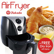 [TAKADA] Takada Air Fryer - Fry with NO OIL - Enjoy Healthy Lifestyle Now 1-Year Local Warranty -