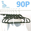 [KANO] 90pcs Nonslip Easy Velvet  Dress Hanger