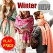 *FLAT PRICE*[buy 2 free shipping]women Muffler/Shawl/Neck warmer/muffler/Knit muffler
