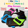 Latest Samsung S3 S4 Note2 Note3 Flip Covers S-view Quicksand Covers! Cheapest ever!! Latest flip covers! Velvet series!