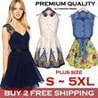 [BUY 2 FREE SHIPPING] S-5XL 2014 Fashion UK Korean Style Super Plus Size Dresses Tops Shirts Blouses Pant