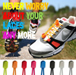 BEST PRICE FREE SHIPPING!! sports lace / lock laces / shoe / shoelace / running / athletic wear /