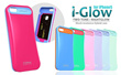Korea candy i-glow silicone case for Samsung galaxy S3/S4/Note2