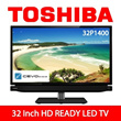 32inch HD Ready LED TV - 32P1400!!! Comes with Two + One years warranty !!!