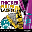 USP: $25.90 - NOW $5!!! LOreal Paris Cosmetics - Mascara Collection - Volum Express / Cat Eyes / Double Extension / Long Extreme / Hypercurl!