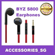 ♣FREE SHIPPING♣ BYZ Earphones S400 S500 S600 S800 Suitable For Most Phones!Cheapest in Qoo1O!
