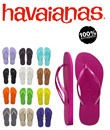 Slim Havaianas Flip flops and Sandals IN STOCK READY TO SHIP SAME DAY 100% Genuine product !