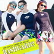 ★COUPLE BEACH FASHION ★ UPF 50+ RASHGUARD KOR HOT TREND SWIM WEAR/BEACH/SURFFING/SWIM SUIT/GIFT