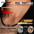 [Christmas Gift]New 1Set Power Ionics Full Throttle 3000ions/cc Fashion Sports Golf Titanium Ion Necklace
