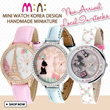 ♥ 3D Clay Cute Mini Watch ♥ New Design Added♥ ORIGINAL Korea Handmade Miniature Watches vday