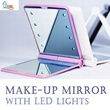 Make up Mirror with LED lights/ Compact Mirror ★ portable ★ fashion design