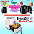 *FREE GIFTS UP TO $76* PHILIPS AIR FRYER (HD9220/HD9230/HD9240) - 2 YEARS WARRANTY AIRFRYER