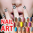 Nail patch sticker nail arts sticker and parts/water decal/