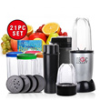 21-Piece Magic Bullet Multi-Purpose Blender Set at $38.9Only!