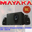 MAYAKA SPK-350U-FB MULTIMEDIA SPEAKER SYSTEM 2.1 CHANNEL